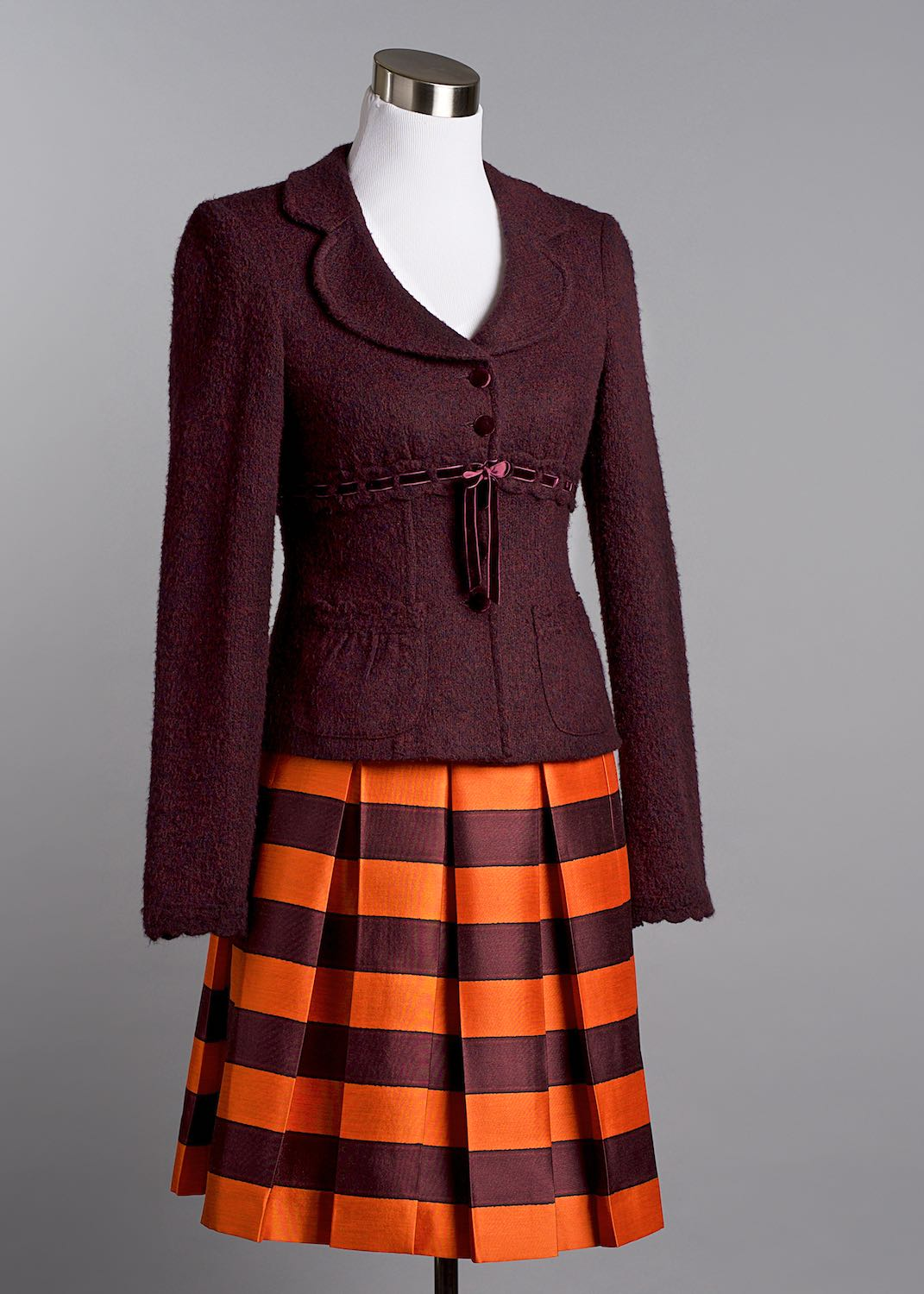 Prada Skirt with Nanette Lepore jacket on mannequin by Bret Doss Commercial Product Photography Seattle